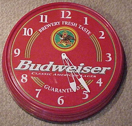 Antique Budweiser Clock Best 2000 Antique Decor Ideas